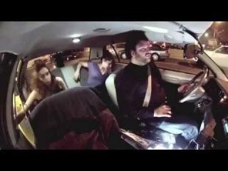 Crazy Taxi joke - Taxi driver turns wolfman - hidden cam