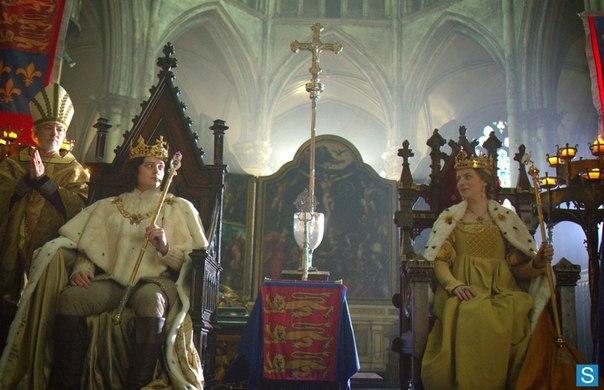 Ричард со своей на коронации. Фото: ВКонтакте