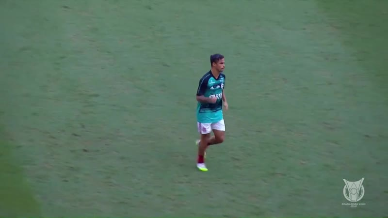 Чемпионат Бразилии 2020 Серия А 8 тур Фламенго Форталеза 1 тайм