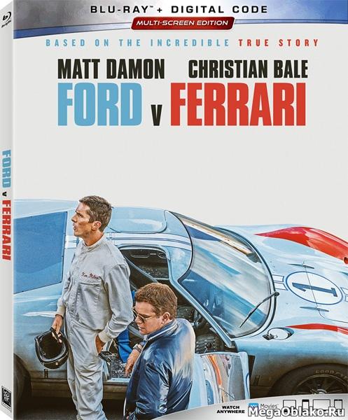 Ford против Ferrari / Ford v Ferrari (2019/BDRip/HDRip)
