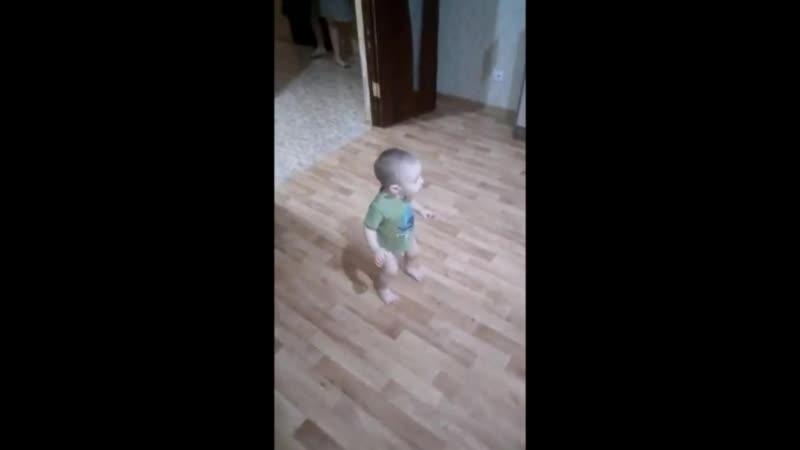 Внук зажигает