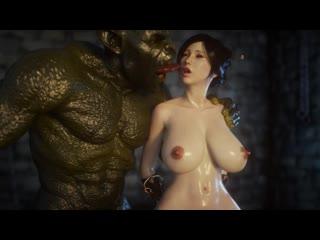 3D PORN - 3D porn - Secret of Beauty [порно, секс, хентай, анал, минет]