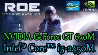 Ring of Elysium. ROE. Ноутбук. Intel Core i5-2450M. NVIDIA GeForce GT 630M 1Gb. 8Gb Ram.
