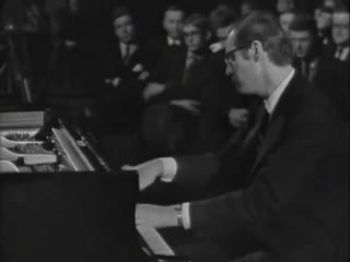 Bill Evans Live in Munch Museum, Oslo (1966 Live Video) (360p)