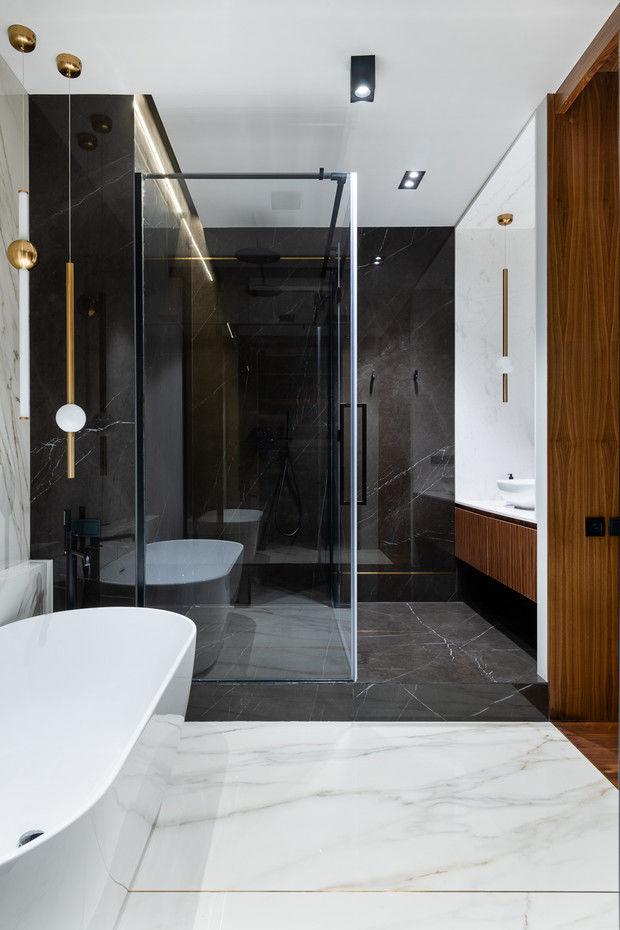 Квартира 80 м² в оттенках натурального дерева и латуни от Buro 19.