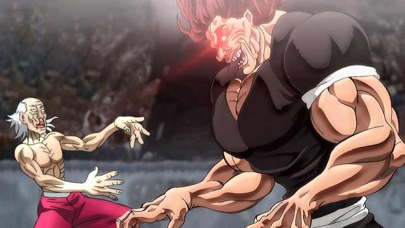 Yujiro Hanma The Strongest Creature on Earth Baki the Grappler