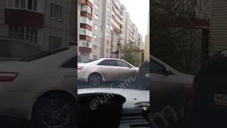 Погоня за бывшим полковником МВД в Сургуте