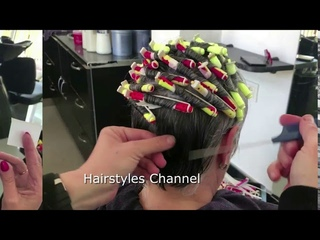Perm short hair  Before And After Tips  by Amal Hermuz