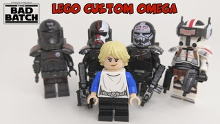 LEGO CUSTOM OMEGA THE BAD BATCH #shorts
