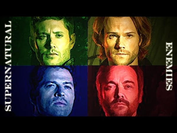 Supernatural Tribute || Enemies || (Sam/Dean/Cas/Crowley)