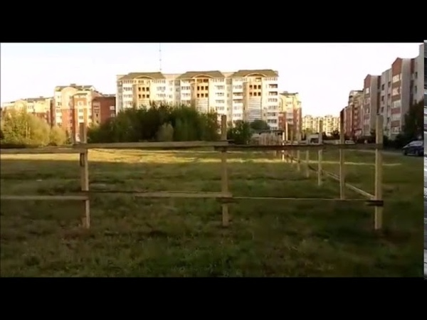 Загадочная стройка на пустыре 51А мкр г Обнинск
