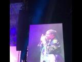 Дэннил на концерте Стиви Уандера в рамках Формулы 1 в Остине