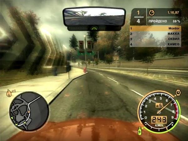 NFS Most Wanted 2005 Porsche 911 Carrera S Призовая Угол шоссе 99 и Стейт Спринт