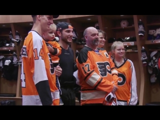 Kevin, a huge Flyers fan, was diagnosed with Glioblastoma three years ago. With the help o
