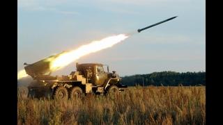 Опытный образец боевой машины реактивной системы залпового огня калибра 122-мм «Шквал»