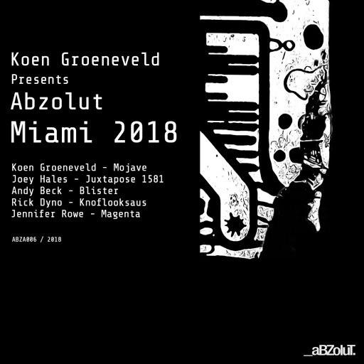 Koen Groeneveld альбом Koen Groeneveld Presents Abzolut Miami 2018