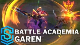 Battle Academia Garen Skin Spotlight - Pre-Release - League of Legends