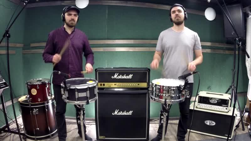 Сorps Master - Jay Wanamaker - Мисников Евгений (Rudimental Duet for Snare Drums|Соло для Двух Малых Барабанов)