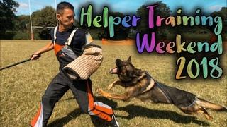 GSDL Schutzhund Decoy IPO Helper Licensing And Training Weekend 2018