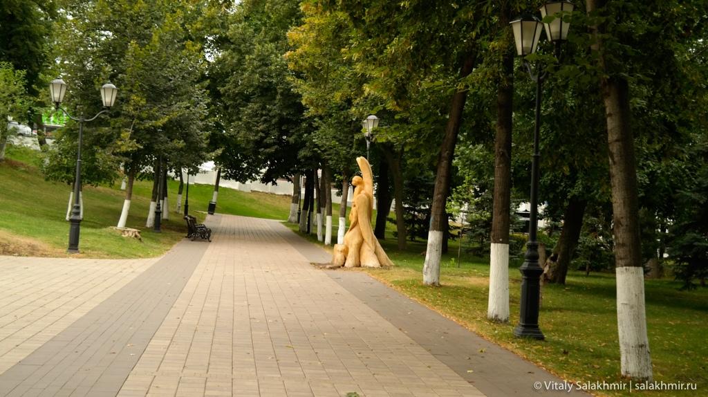 Струковский сад, Самара 2020