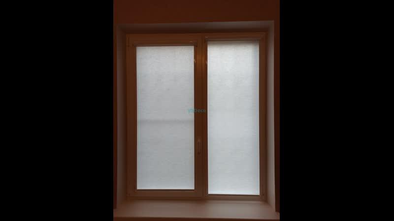 Кассетные рулонные шторы UNI 2 c тканью Лен
