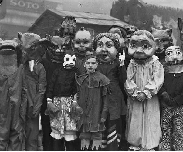 Хэллоуин. 1930 год