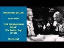 Wolfgang Zeller music from Der Zerbrochene Krug 1937