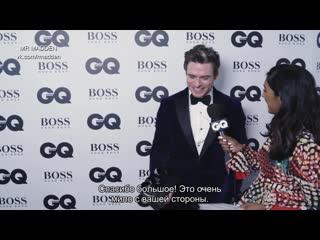 Richard Madden on Marvel`s Eternals | British GQ (рус субтитры)