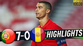 Portugal Vs Andorra 7-0 | All Goals & Extended Highlights 2020 HD