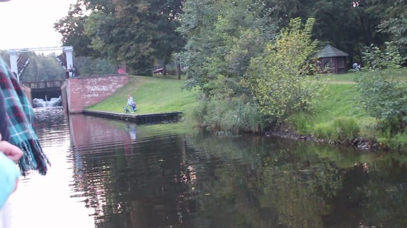 Августовский канал шлюз Домбровка