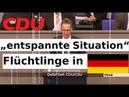 """CDU Clown """"entspannte Situation Flüchtlinge Asyl AfD widerspricht 14 02 2019"""