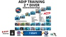 🐟ADIP diving certificates, 2 star divers advance open water with the Thailand Diving Asia Pattaya