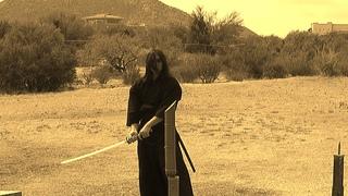Tameshigiri - Cutting with music track