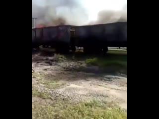 агоны с углем вспыхнули во время движения грузового состава в Еврейской автономной области