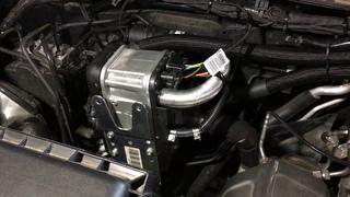 Mitsubishi L200 первый запуск Webasto Thermo Top Start после установки