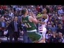 Kelly Olynyk and Kelly Oubre Jr. FIGHT   2017 NBA Playoffs   BOS vs WAS  
