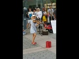 Amazing Young Girl Playing Despacito on Violin - Street Performance