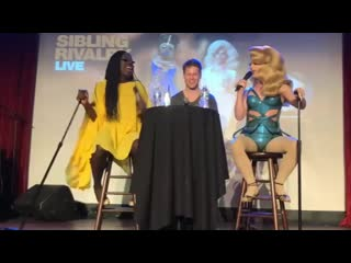 Randy harrison with bob the drag queen
