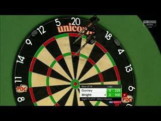 Daryl Gurney vs Peter Wright (PDC Premier League Darts 2020 / Week 11)