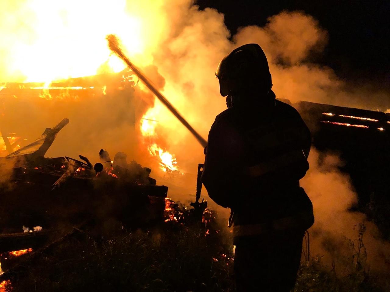 Пожар оставил без дома жителей КЧР