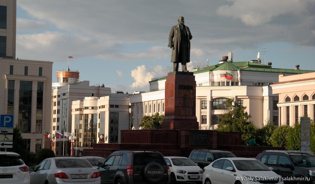 Памятник Ленину на площади Свободы, Казань 2020