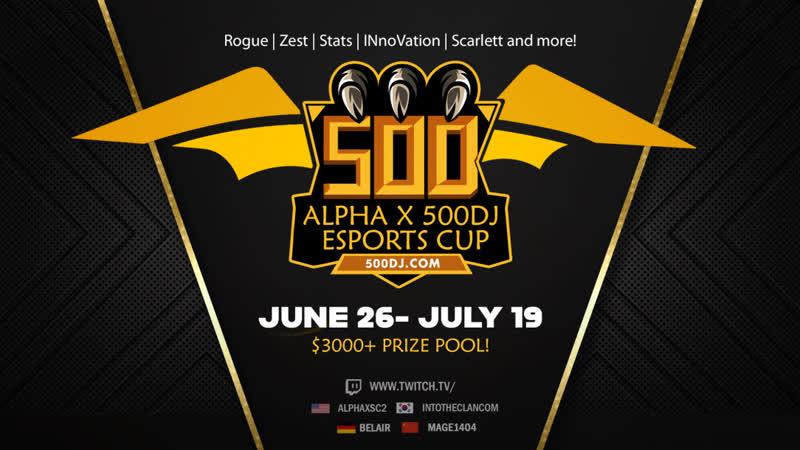 Alpha X 500dj Esports Cup ro16 группа B 01 07 2020