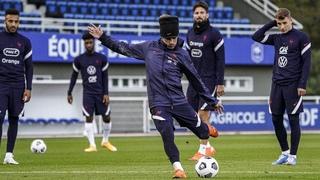 Le replay de l'entrainement des Bleus, Equipe de France I FFF 2020