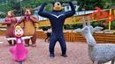 ПОТЕРЯЛИСЬ В МУЛЬТИПАРКЕ! Катя и Макс веселая семейка смешной сериал куклы Барби видео мультики