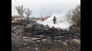 В Мордовии из-за пала сухой травы сгорело 11 домов