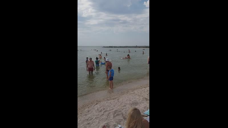 Ейск июль 2020 г Пляж Пятак
