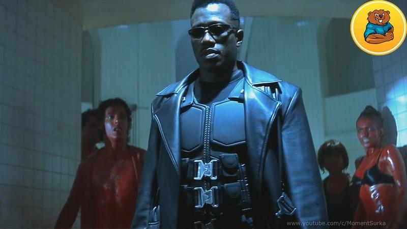 Драка в ночном клубе Эпизод фильма Блэйд убийца вампиров Blade the Vampire Slayer