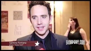"""""""Act One""""'s Santino Fontana & Tony Shalhoub Celebrate Moss Hart's Love Letter to the Theater"""