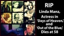 Linda Manz, Actress in 'Days of Heaven,' and 'Out of the Blue,' Dies at 58