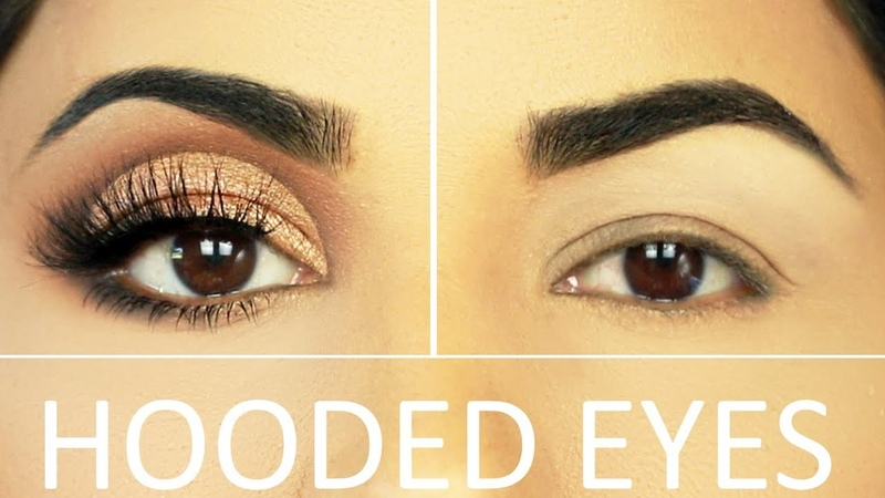 TRY THIS Easy trick for Hooded Droopy Eyes Build A Crease